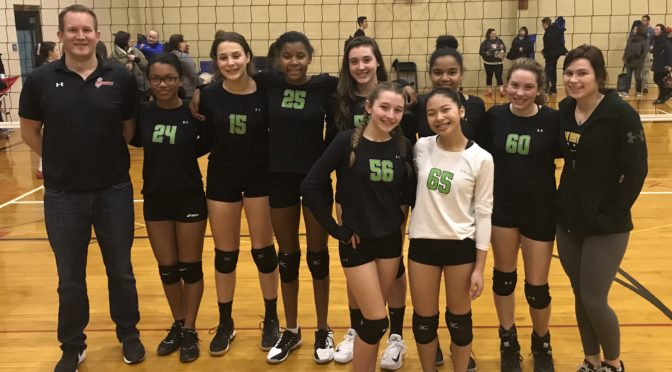 CHVBC 14 Storm Take 1st in All-CHVBC Final