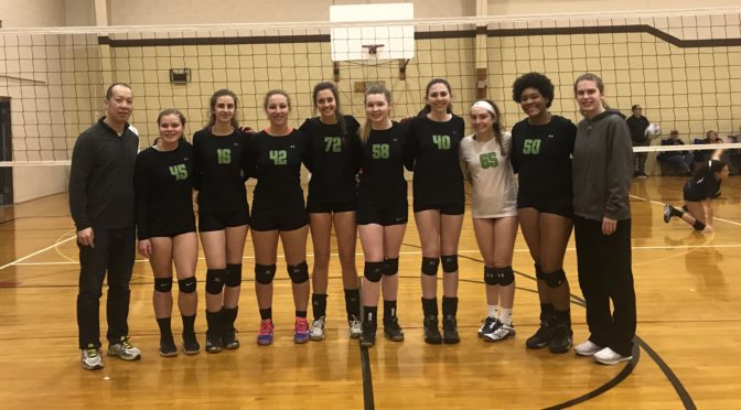 CHVBC 17 Intensity Takes Home Gold