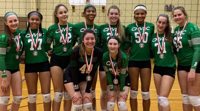 Chvbc 16 Spartans Win Gold In 17s Division Cherry Hill Volleyball Club