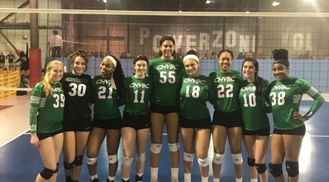 CHVBC Advances in GEVA Power League
