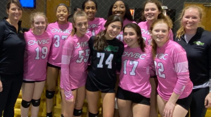 Chvbc 15 Intensity Ranked 1 In The Region Cherry Hill Volleyball Club