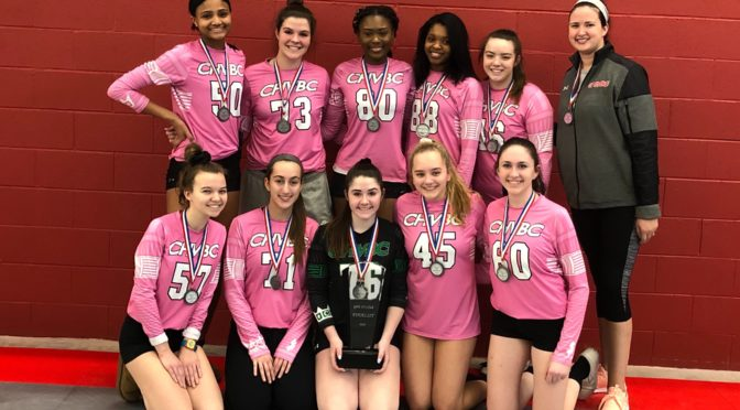 CHVBC 17 Venom win silver in Richmond
